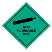 Hazard safety sign - Non Flammable Gas 046